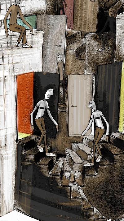 stairs | Robbe | Digital Drawing | PENUP