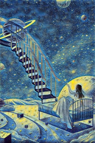 Stair to heaven  | yanyan | Digital Drawing | PENUP