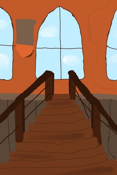 Well almost broken stairs. | Vitalik-2001 | Digital Drawing | PENUP