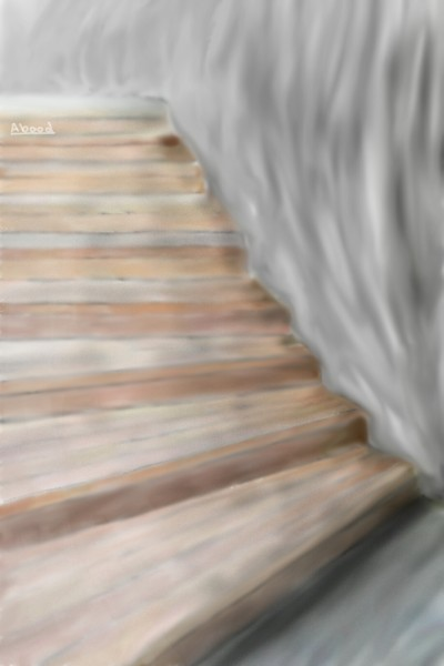 Let's draw stairs challenge  | MK-Abood1 | Digital Drawing | PENUP