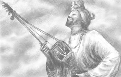 sketch of a baul singer   rafadhaka   Digital Drawing   PENUP