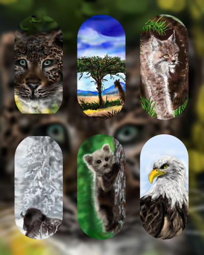 MY ART ☆ANIMALS COLLECTION☆   Barbra   Digital Drawing   PENUP