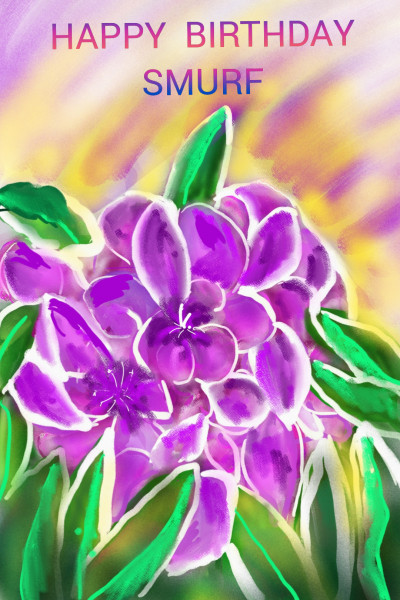 FOR SMURF | Barbra | Digital Drawing | PENUP