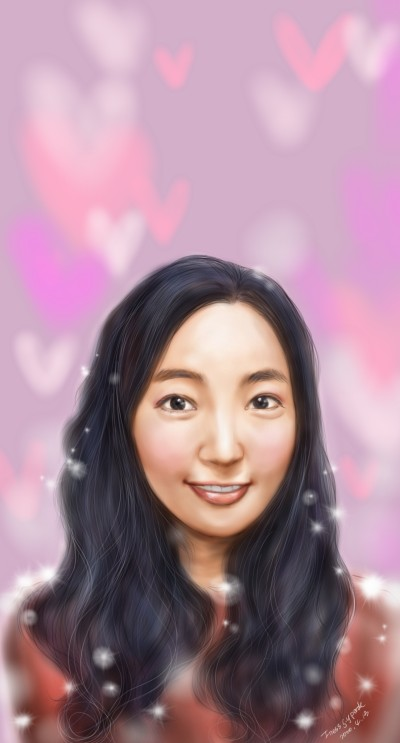 a girl | Iness_j.y_park | Digital Drawing | PENUP
