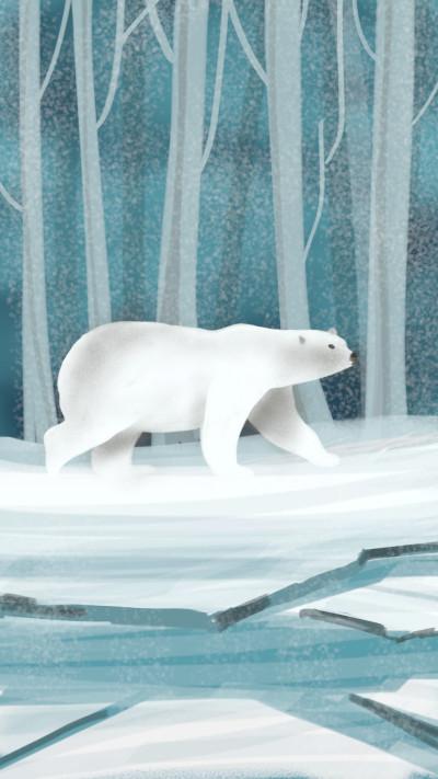 polar bear | shahir | Digital Drawing | PENUP