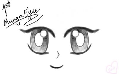 My first Anime/Manga? Eyes idk ;-; | Rose | Digital Drawing | PENUP