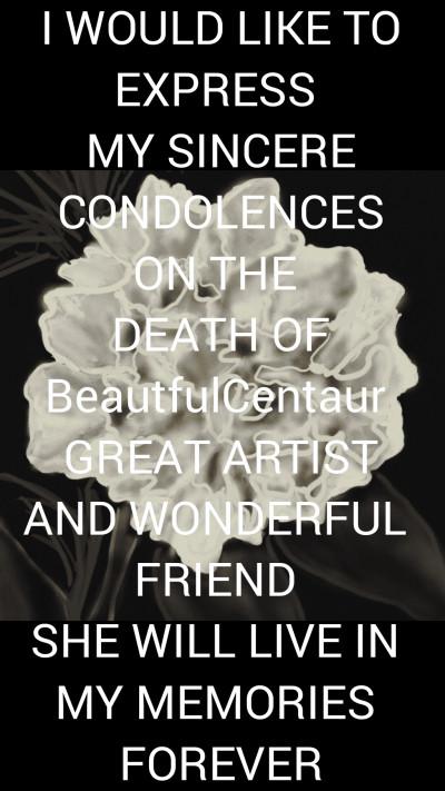 RIP BeautfulCentaur    Barbra   Digital Drawing   PENUP