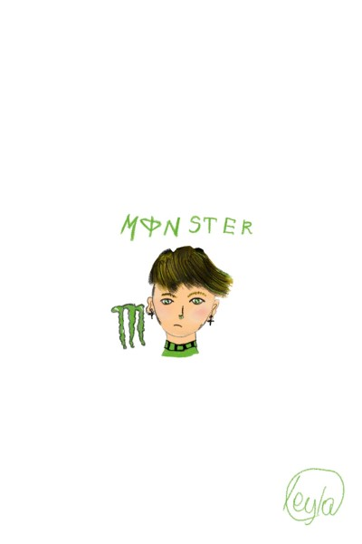 Монстер & Драко | dracoSHAru | Digital Drawing | PENUP
