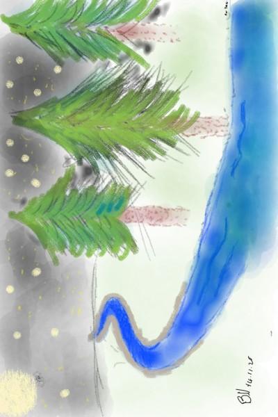 Full Moon Bliss | AllBRAN | Digital Drawing | PENUP