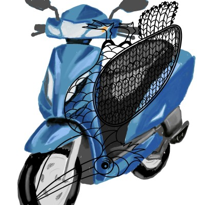 bike | J-O-C | Digital Drawing | PENUP