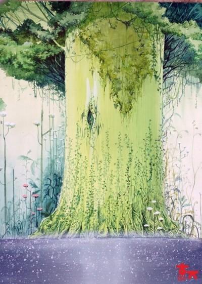신수의 나무 | violet | Digital Drawing | PENUP