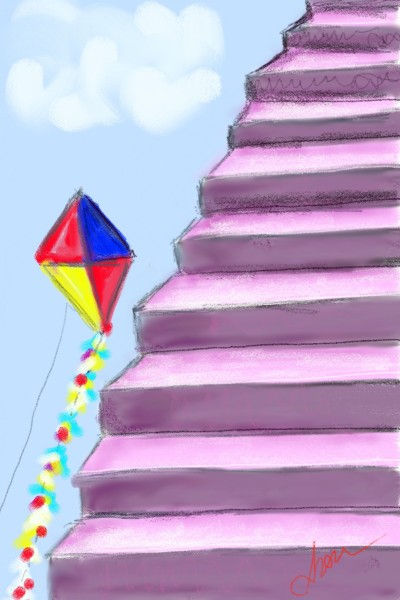 Stairs of dreams | Ayca | Digital Drawing | PENUP