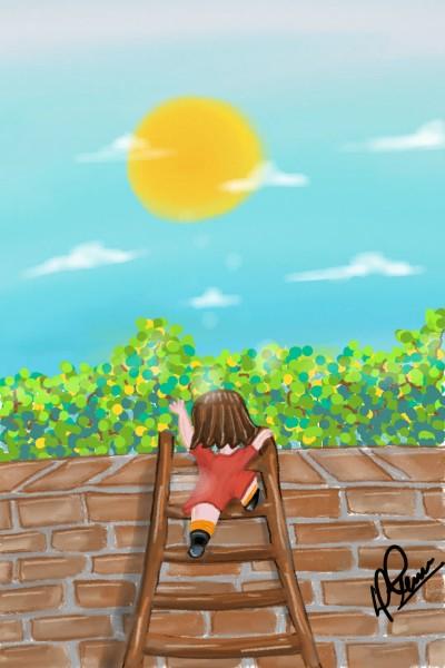 reaching the sun | djanelrivera | Digital Drawing | PENUP
