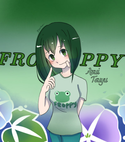 Asui tsuyu/ Froppy | IcyHot | Digital Drawing | PENUP
