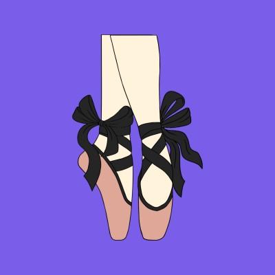 Ballerina shoes | TeoMayQi | Digital Drawing | PENUP