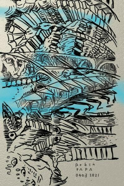 Endless Stairs   RobinPAPA   Digital Drawing   PENUP