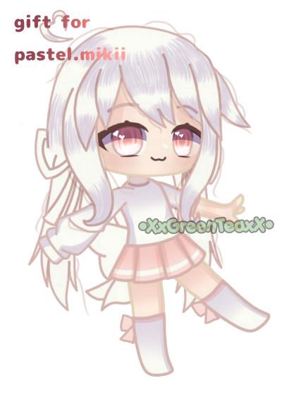 gift for pastel_mikiii | XxGreen_teaxX | Digital Drawing | PENUP