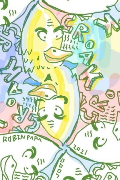 Duck : croak_croak_croak | RobinPAPA | Digital Drawing | PENUP