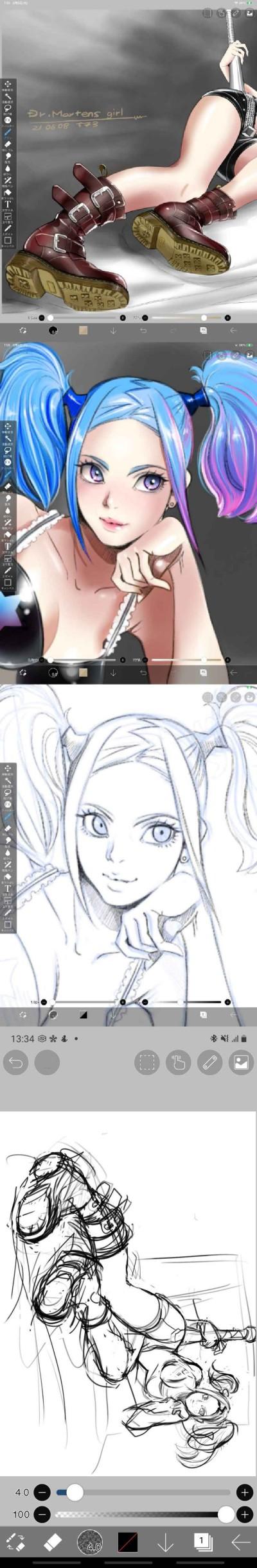 progress drawing  | tosi73 | Digital Drawing | PENUP
