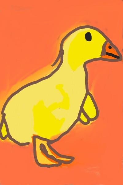Duck | Mehrban | Digital Drawing | PENUP