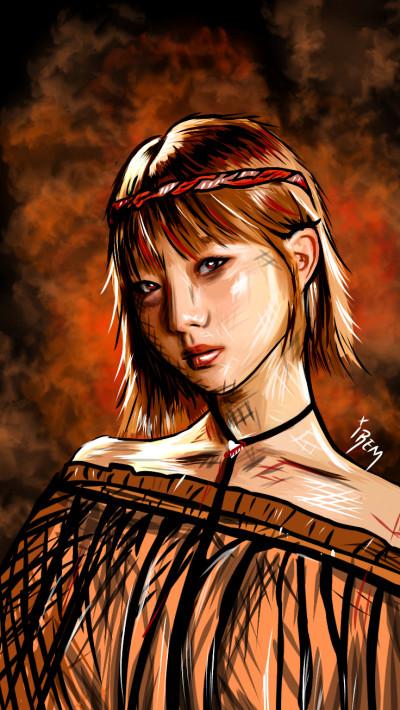 LOOΠΔ   Yeo-jin ❤️   Irem   Digital Drawing   PENUP