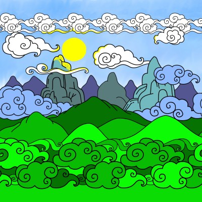 Sunny Day   Bekkie   Digital Drawing   PENUP