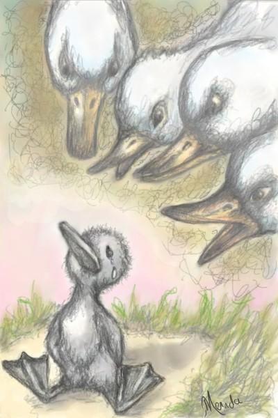 Ugly Duckling Memories   Merinda   Digital Drawing   PENUP
