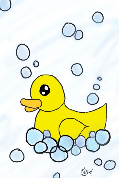 Ducky   Wonderland   Digital Drawing   PENUP