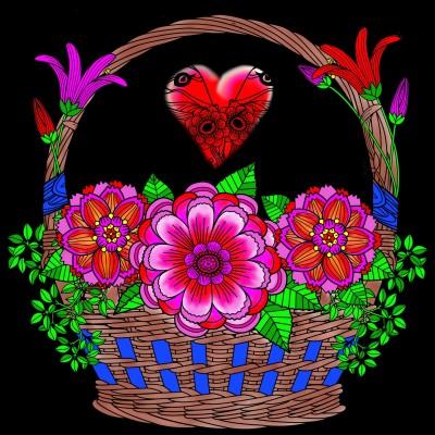 Basket Of Love   Bekkie   Digital Drawing   PENUP