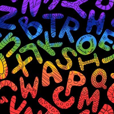 Alphabets | A.K.G_INDIA | Digital Drawing | PENUP