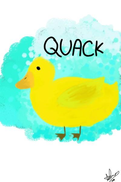 Duck☆   Almans_Art   Digital Drawing   PENUP