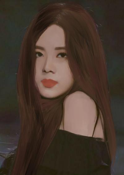 blackpink jisoo drawing ♡♡   RINI   Digital Drawing   PENUP