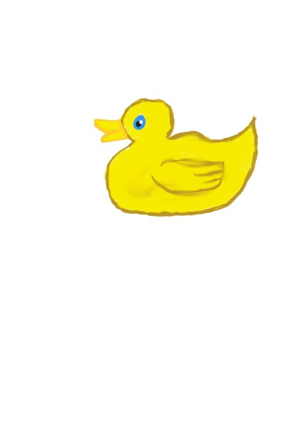 """Duckling """"I guess it's a duck""""   Abdellah   Digital Drawing   PENUP"""