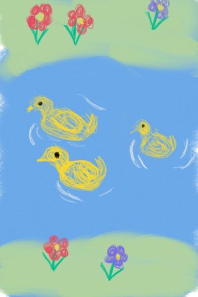 3 little ducks   AJTee   Digital Drawing   PENUP