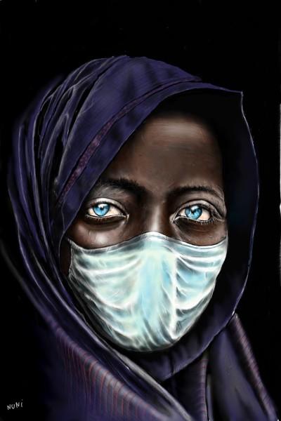 Behind the mask | nuni | Digital Drawing | PENUP