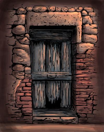 old door | ea_stasy | Digital Drawing | PENUP