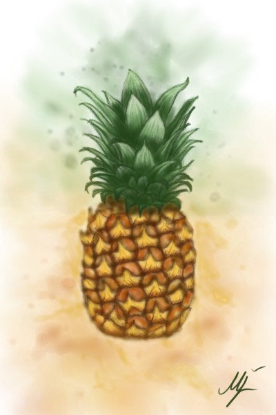 pineapple ♡ | mjalkan | Digital Drawing | PENUP