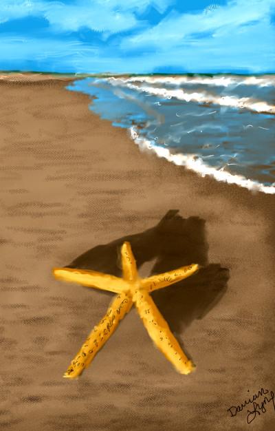 Starfish | missdarrian | Digital Drawing | PENUP