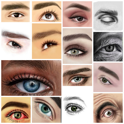 my eye collection partI | i.mary | Digital Drawing | PENUP