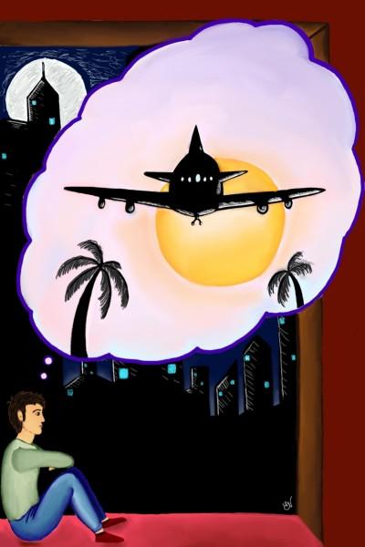 Daydream's night | Velena | Digital Drawing | PENUP