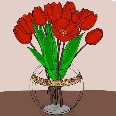 flor | Fafa | Digital Drawing | PENUP
