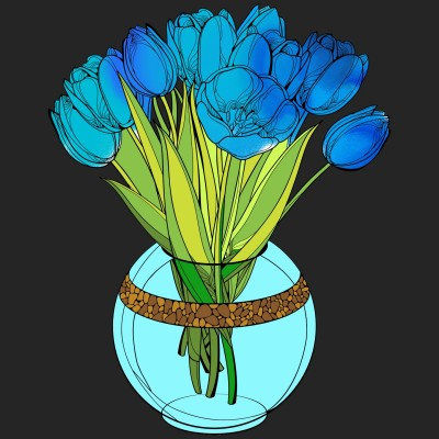 water flower   demira   Digital Drawing   PENUP