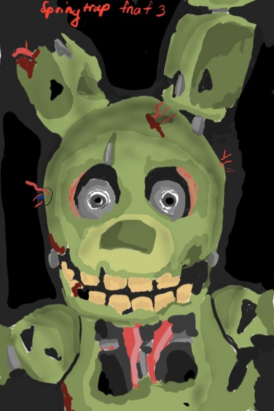 springtrap  | Amirflash | Digital Drawing | PENUP