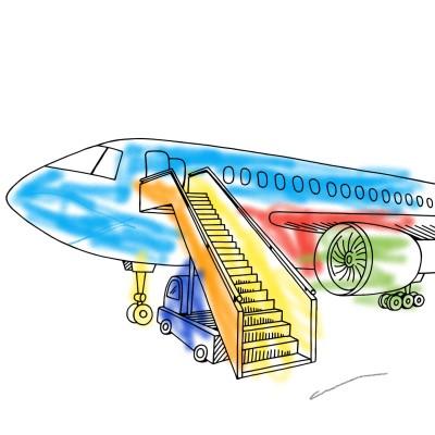 Uçak | Muhammed | Digital Drawing | PENUP