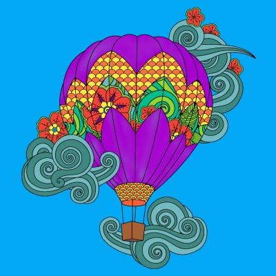 The balloon in my dream   Kiarash.Arts   Digital Drawing   PENUP