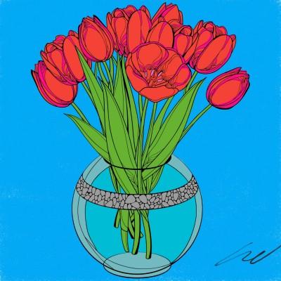 Tulipanes  | LynBh | Digital Drawing | PENUP