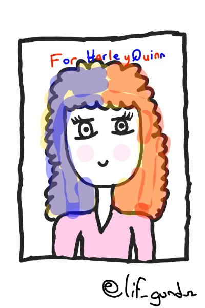 For @HATLEYQUINN | elif_gunduz | Digital Drawing | PENUP