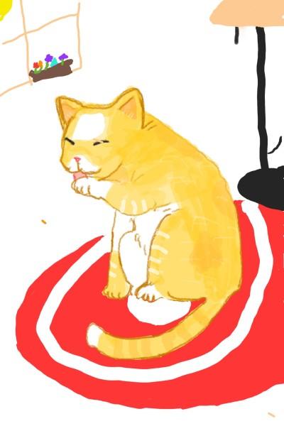 Toby  cat   sox   Digital Drawing   PENUP
