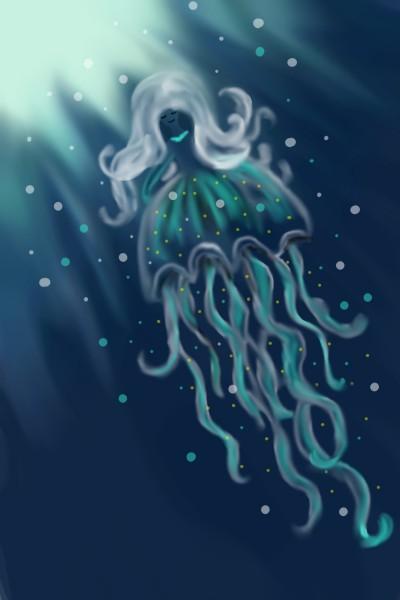 Jellyfish for MissyJ | Natasha | Digital Drawing | PENUP
