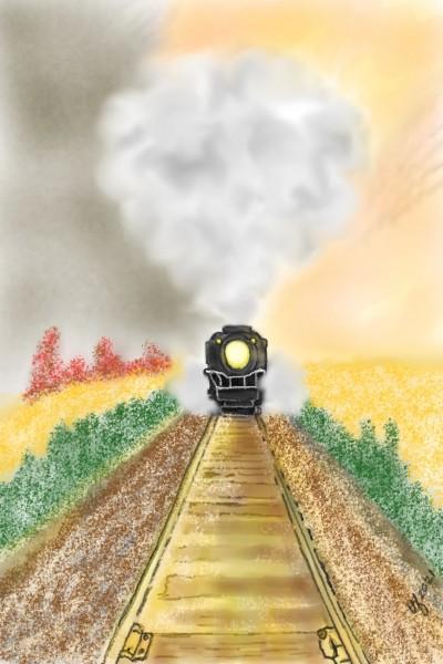 Crossing The Prairie | TeeTee | Digital Drawing | PENUP